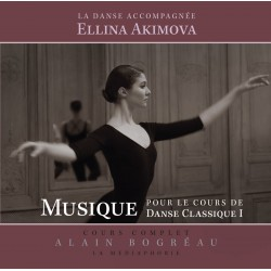 CD, Dance Accompaniment I, E. Akimova