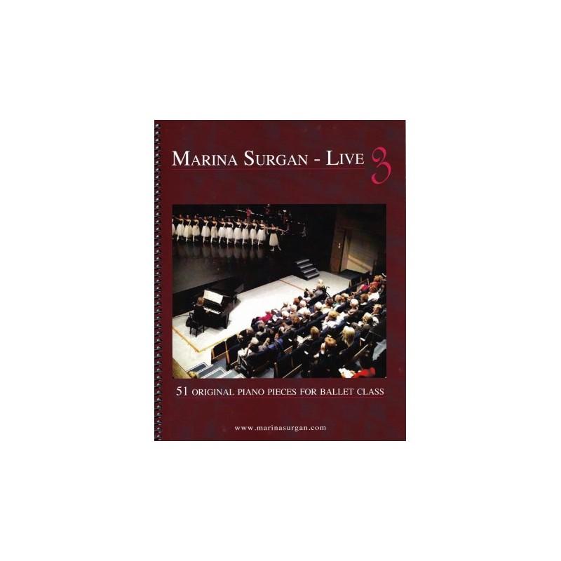 Piano Sheet Book - Marina Surgan Live 3