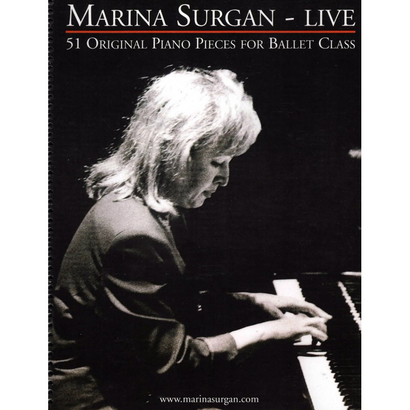 Piano Sheet Book - Marina Surgan Live