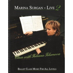 Piano Sheet Book - Marina Surgan Live 2