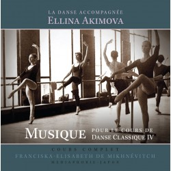MP3, Dance Accompaniment IV - centre exercises, Ellina Akimova