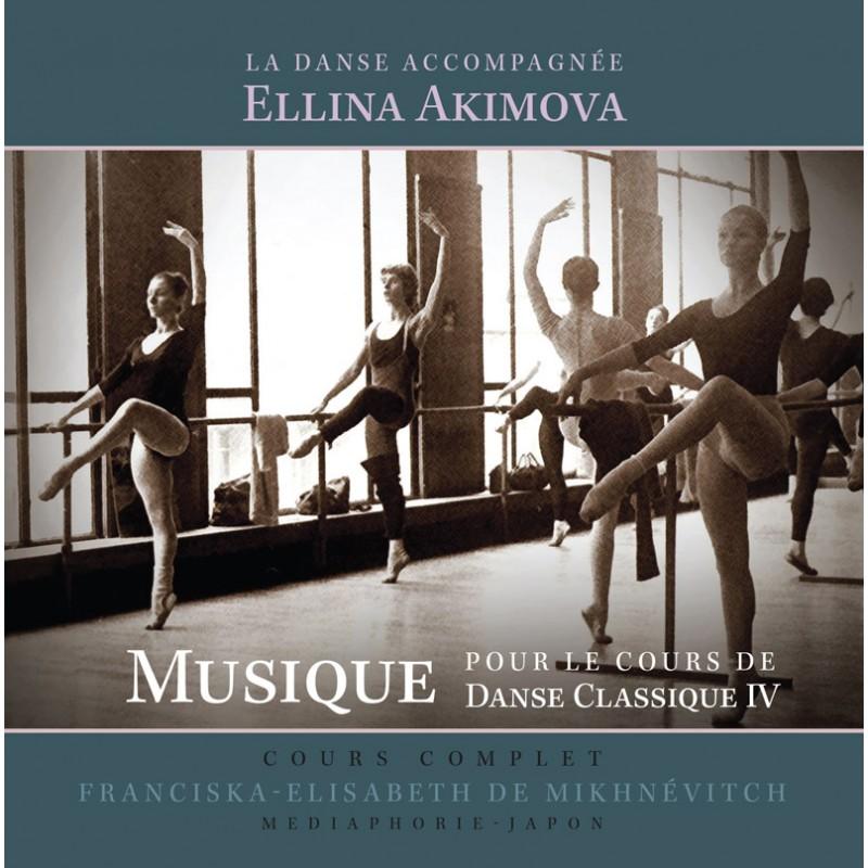 MP3, Dance Accompaniment IV - centre exercises, Ellina Akimova