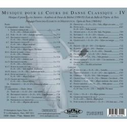 MP3, Dance Accompaniment IV - centre barre exercises, Ellina