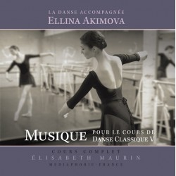 MP3, Dance Accompaniment V, Barre exercises, E. Akimova