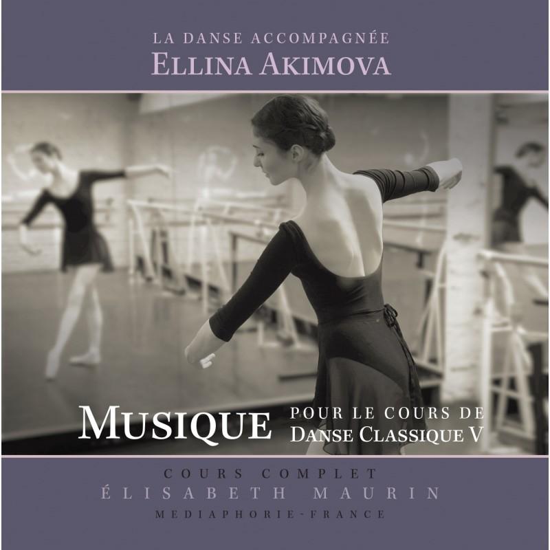 MP3, Dance Accompaniment V, Barre exercises, E. Akimova