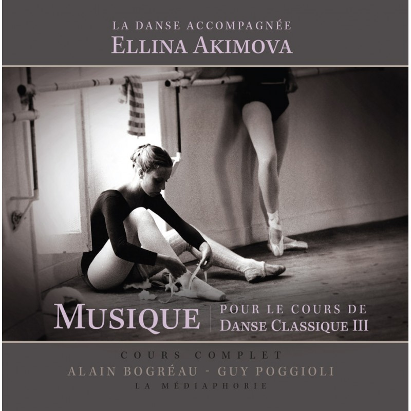 MP3, Dance Accompaniment III, Centre, Pointes Exercises by E. Akimova