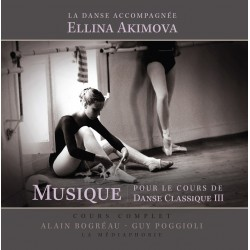 MP3, Dance Accompaniment III, barre exercises E. Akimova