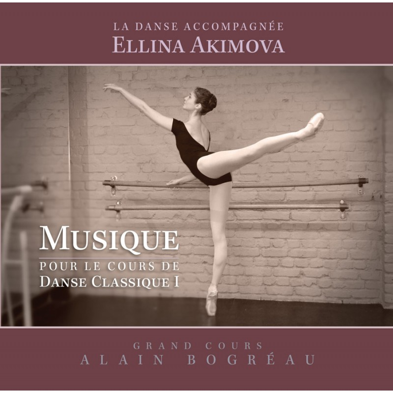MP3, Ballet Music for the barre exercises by Ellina Akimova, Collection La Danse Accompagnee , Volume I