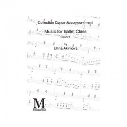 PDF, Music Sheets for Ballet Class, Danse Accompagnée, Volume I , by Ellina  Akimova
