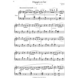 PDF, Music Sheets for Ballet Class III, E. Akimova - sample page