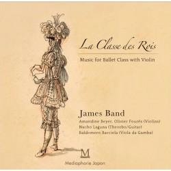 La Classe des Rois, Musique pour le Cours de danse classique  - instrument Violin