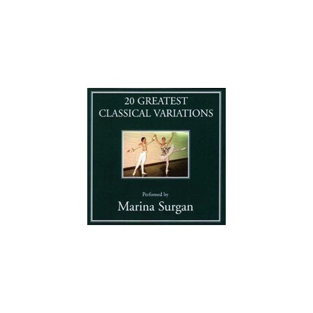 CD, Marina Surgan - 20 Greatest Classical Variations